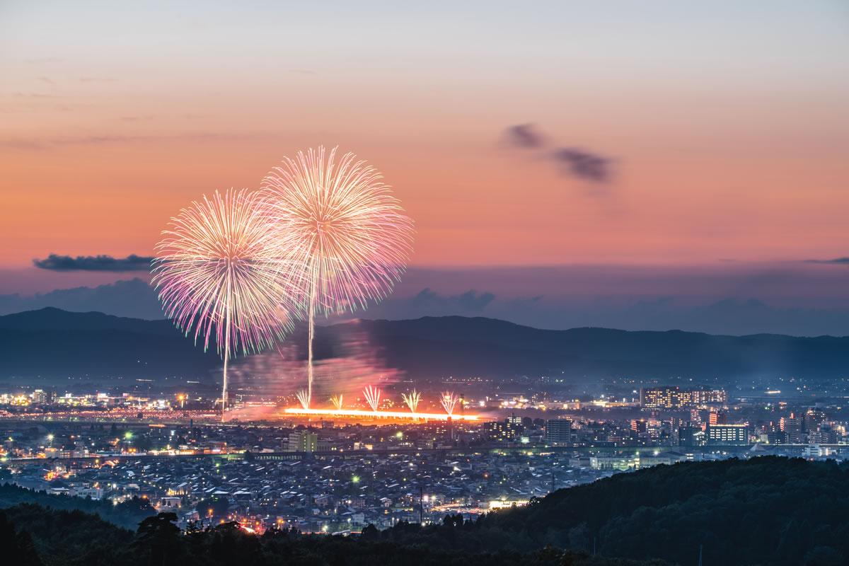 Nagaoka festival big fireworks