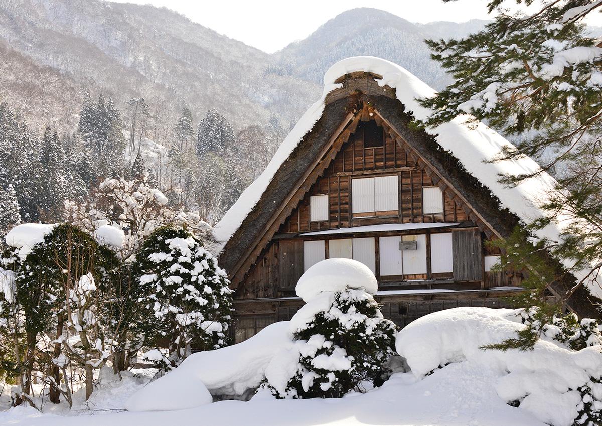 冬季白川鄉