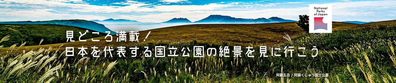 見どころ満載!日本を代表する国立公園の絶景を見に行こう