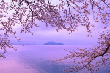 滋贺、琵琶湖