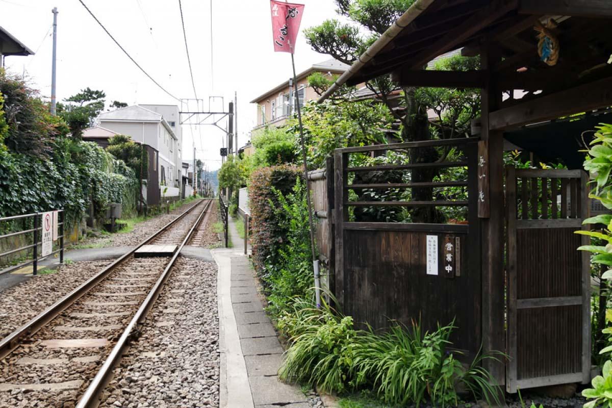 【到鎌倉優雅渡過假日】和江之電有親密接觸的甜品店「無心庵」