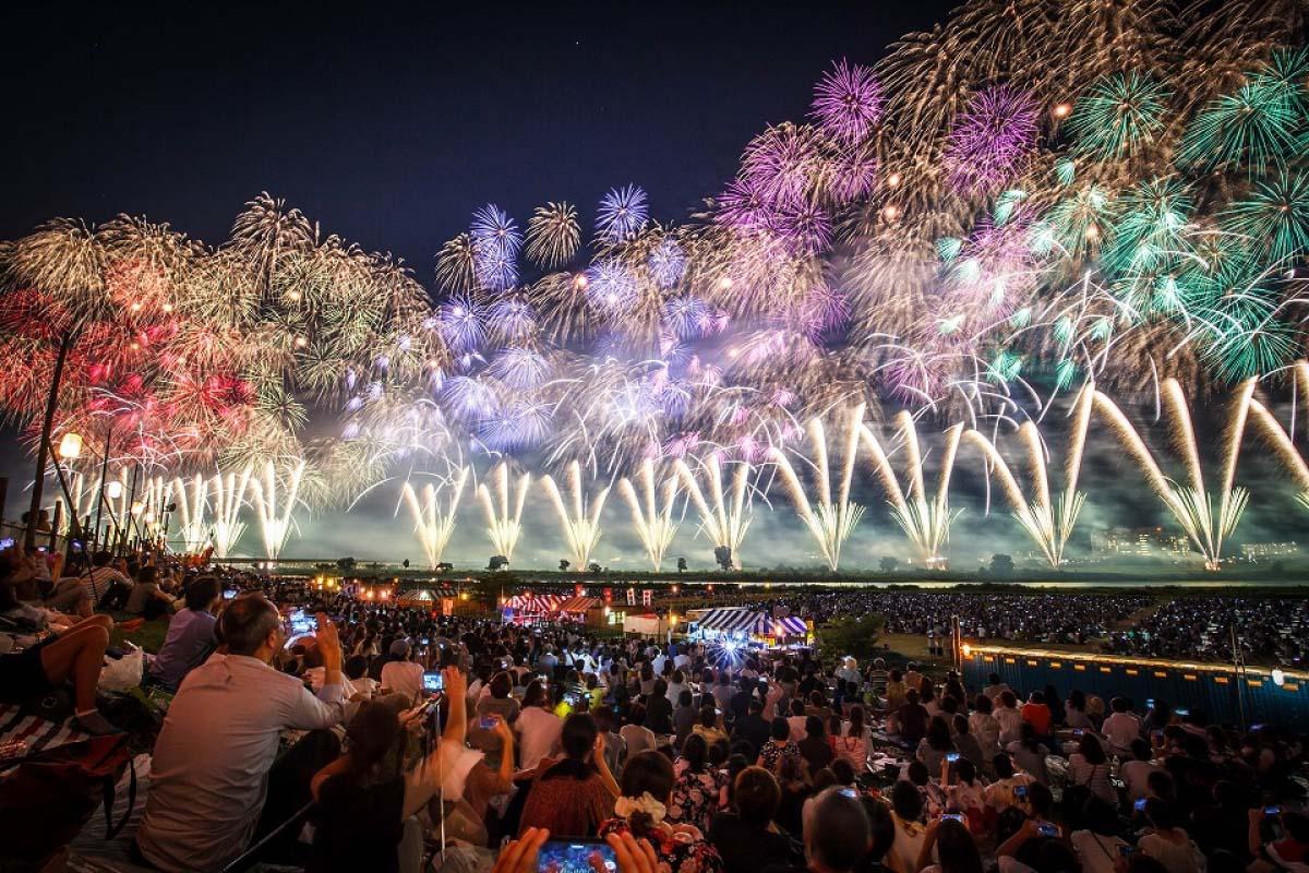 長岡祭大型煙火大會