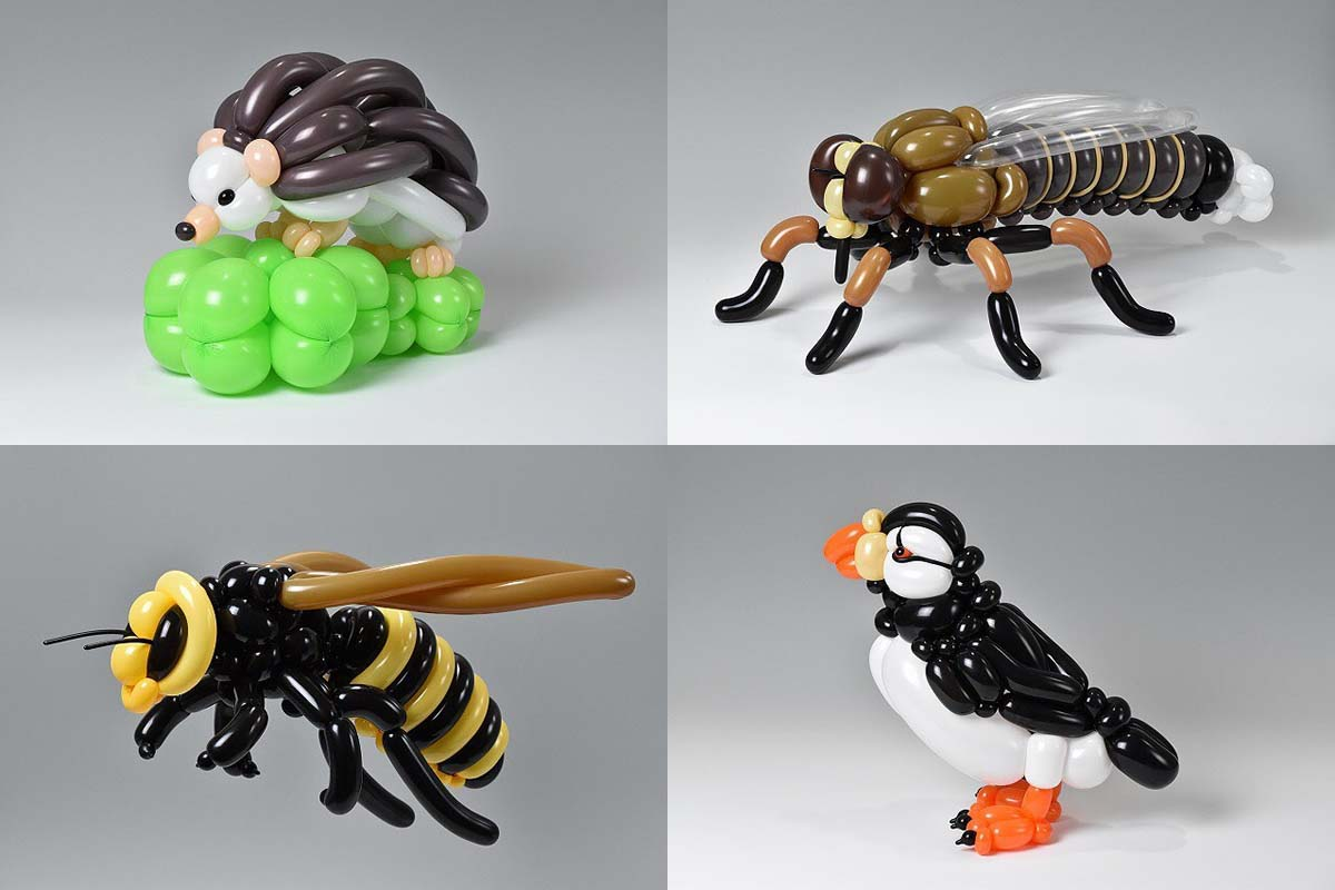 Masayoshi Matsumoto, a young artist, elevates the possibility of balloon arts.