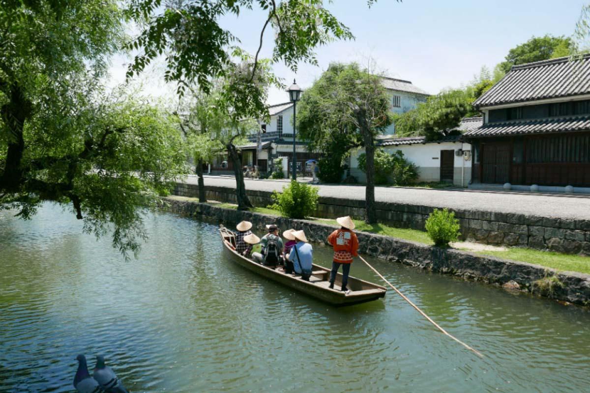 美觀地區 搭乘日式扁舟