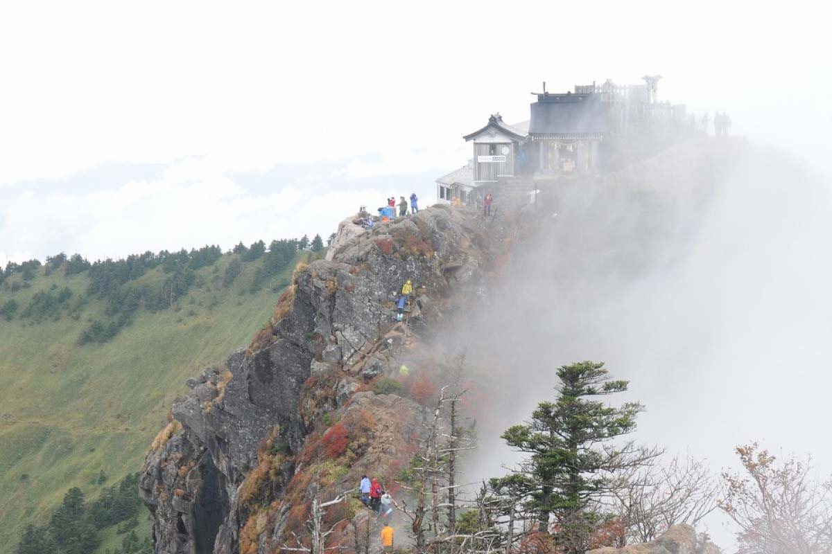 石鎚神社 奥宮 頂上