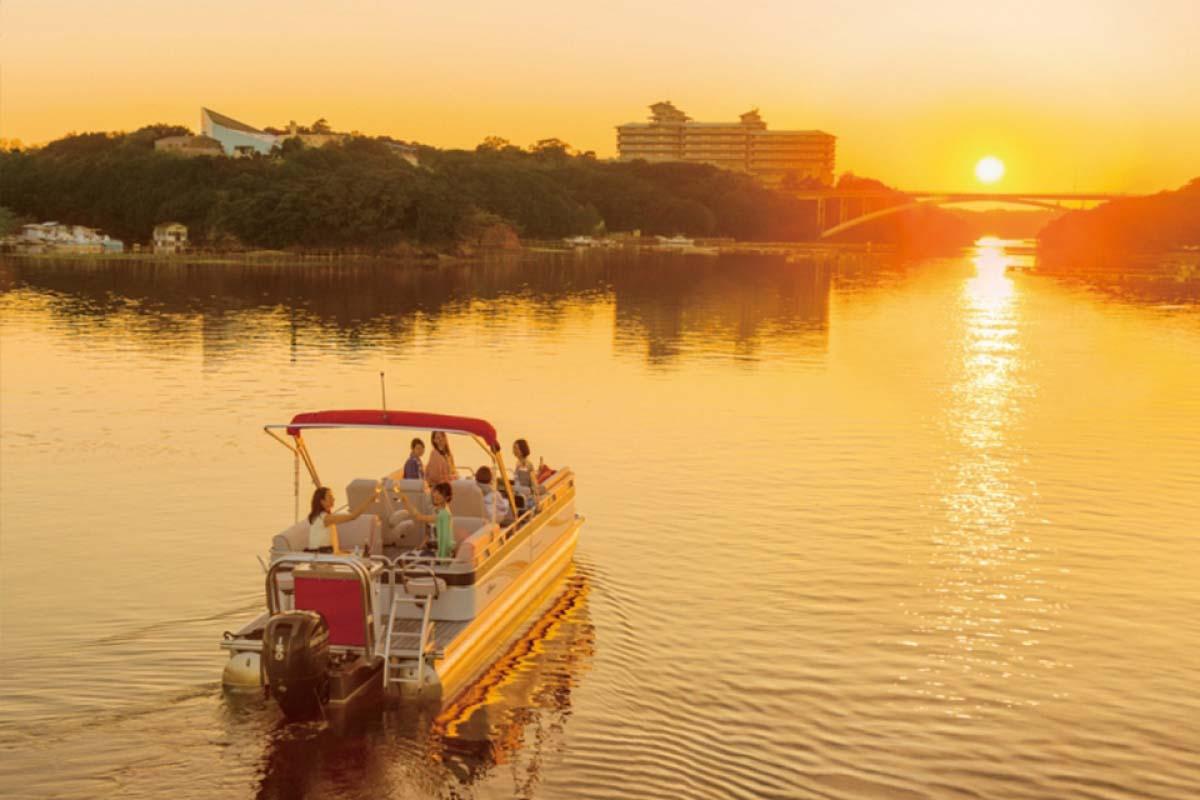 英虞灣夕陽遊覽船