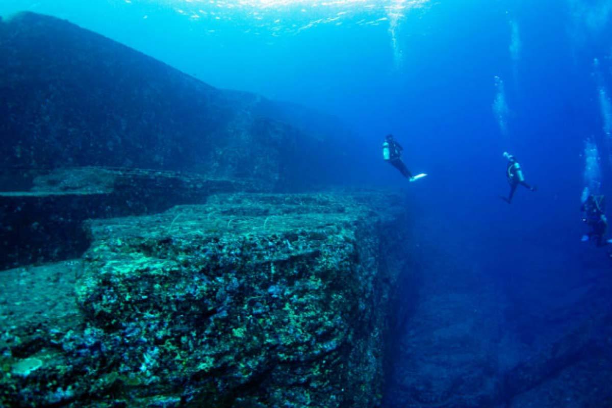 海底遺跡  與那國島
