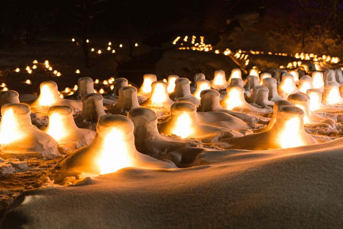 湯西川溫泉雪洞祭