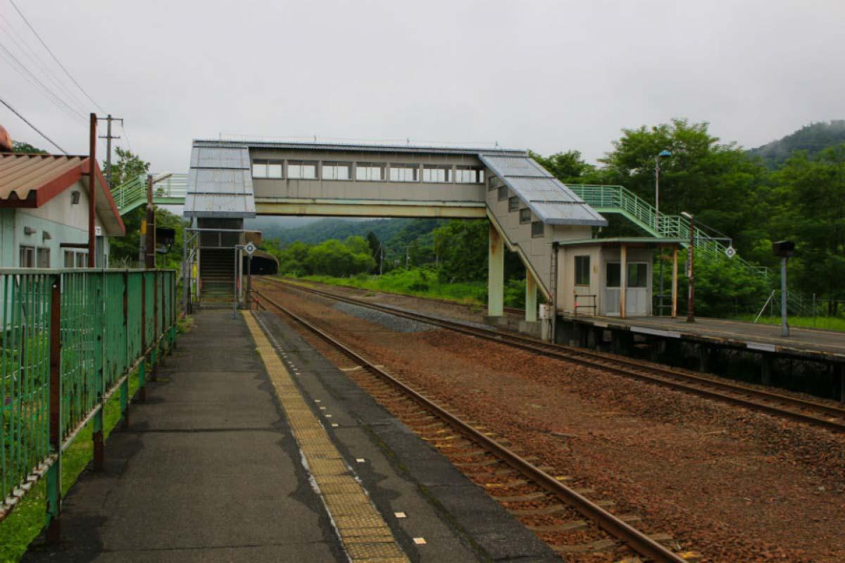 JR石勝線・瀧之上車站