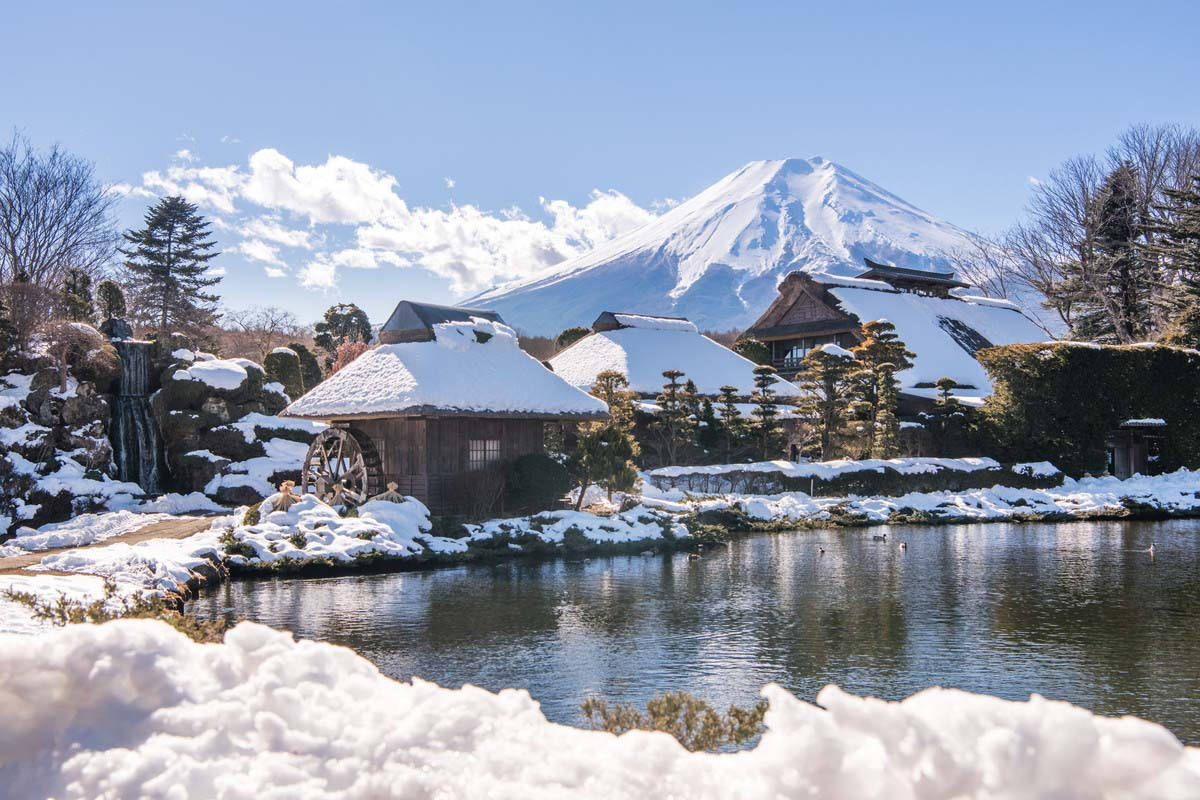 The Five Most Scenic Snow-Shrouded Homes of Japan