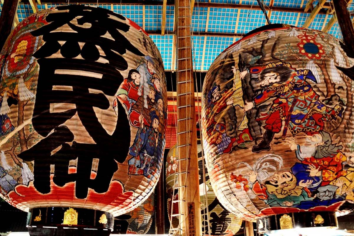 大きさにびっくり!愛知の夏の風物詩「大提灯まつり」の魅力に迫る|ZEKKEI Japan