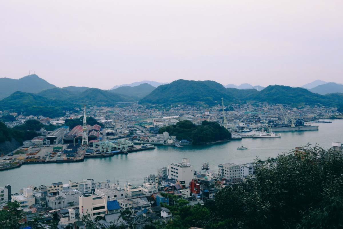 千光寺公園 瀨戶內海