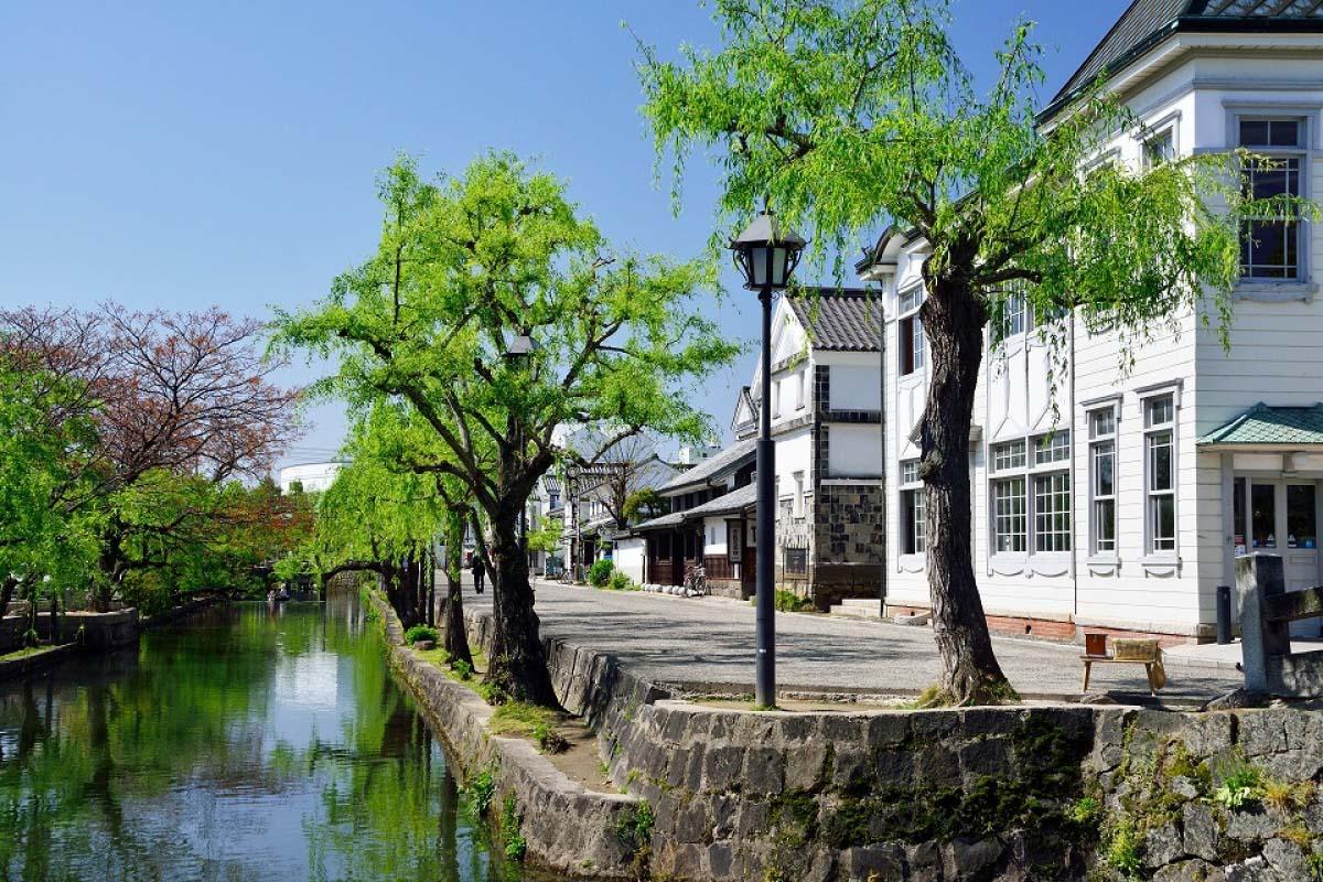 岡山 倉敷美觀地區