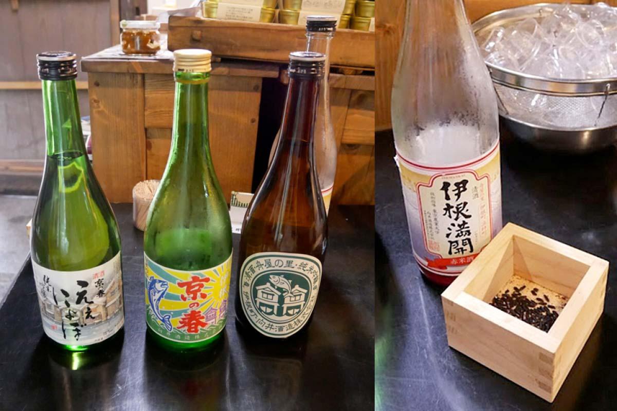 品味在地製造的日本酒
