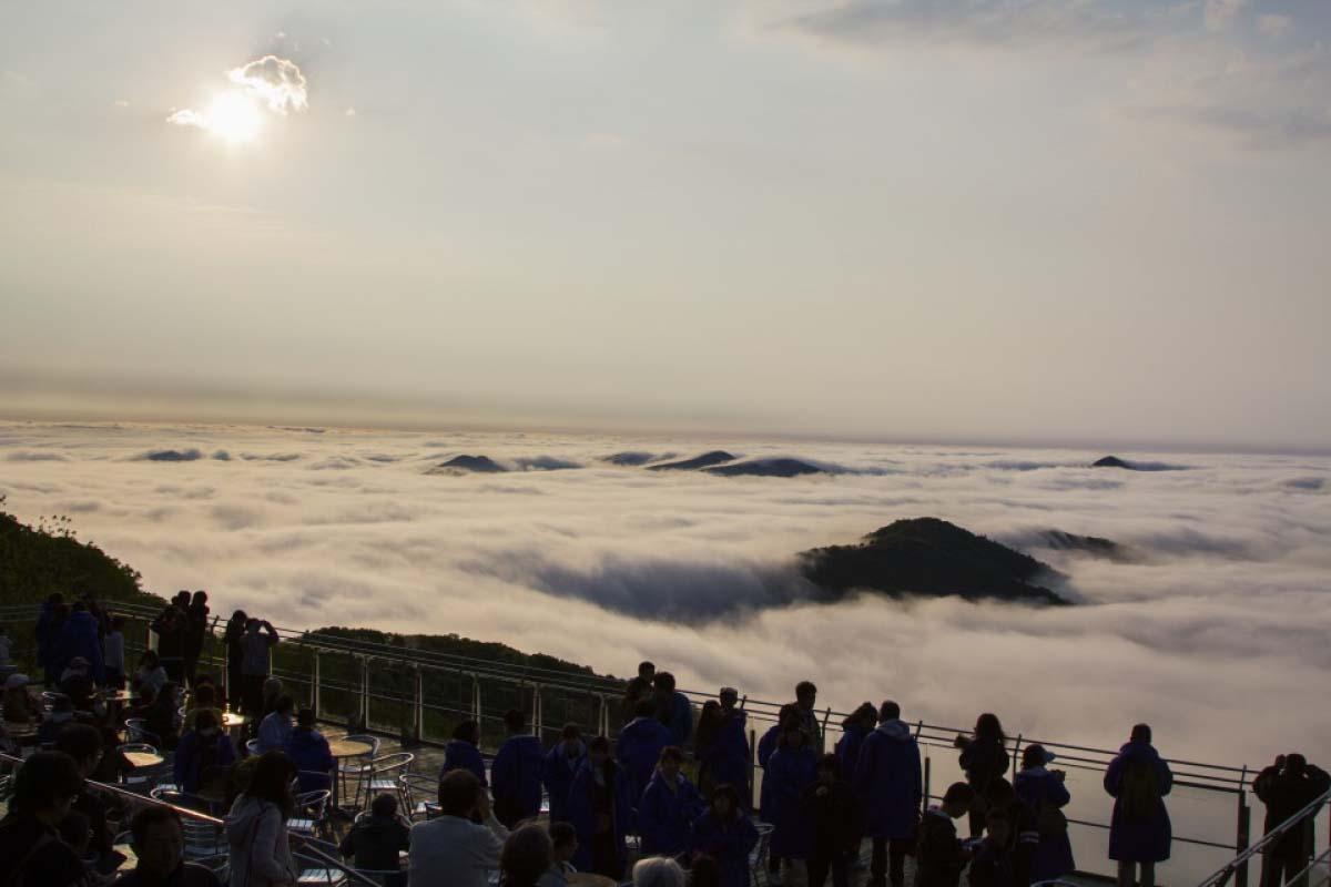 北海道TOMAMU雲海平台
