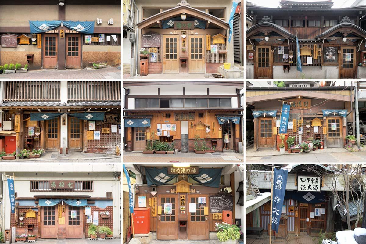 "How to travel around the 9 bathhouses of Nagano's ""Shibu Onsen"""