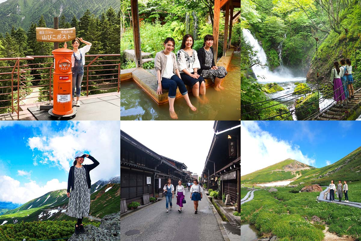 From superb views to hot springs and gourmets! Perfectly suit to a greedy trip is Hida-Takayama.