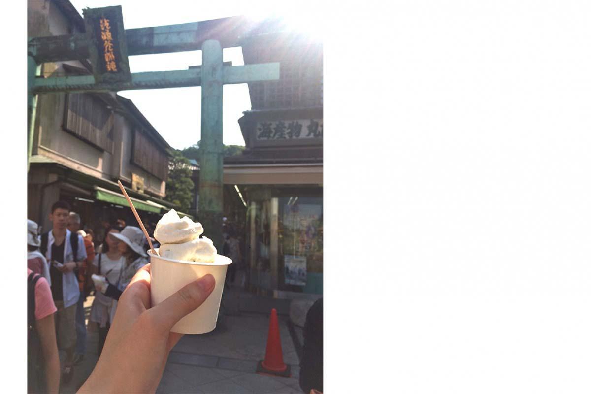吻仔魚霜淇淋