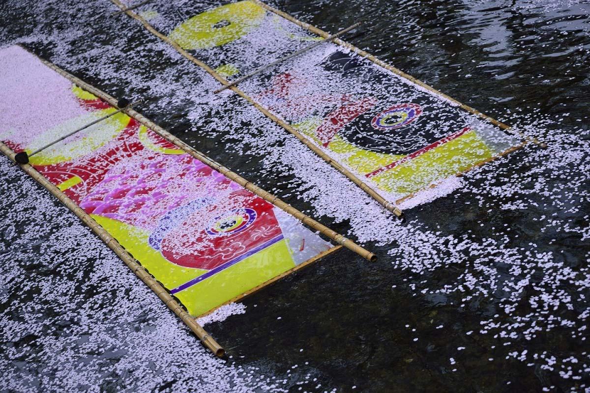五条川 のんぼり洗い