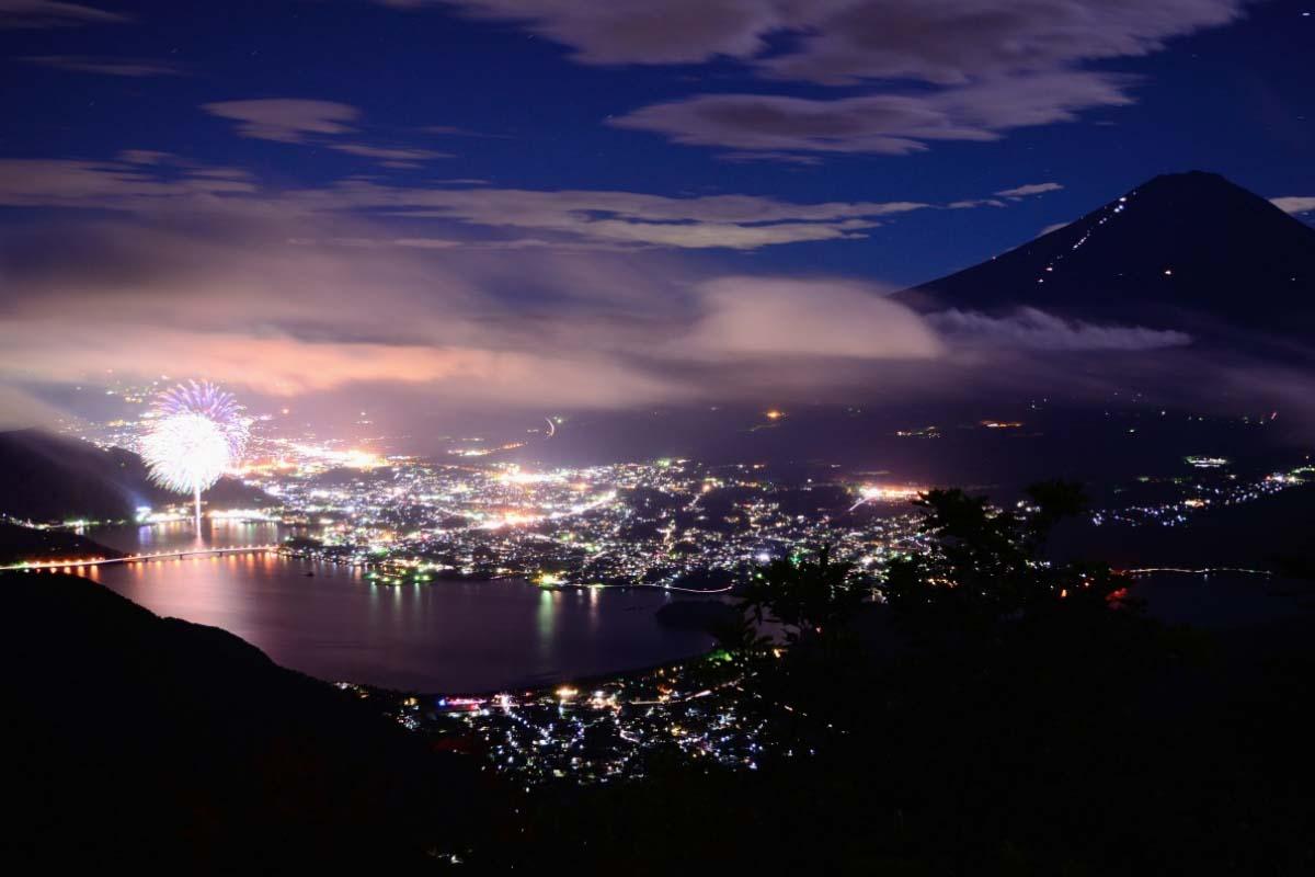 日本 河口湖湖上祭