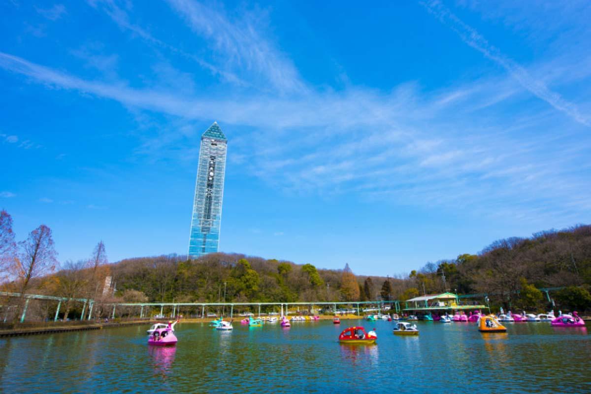 東山動植物園划船