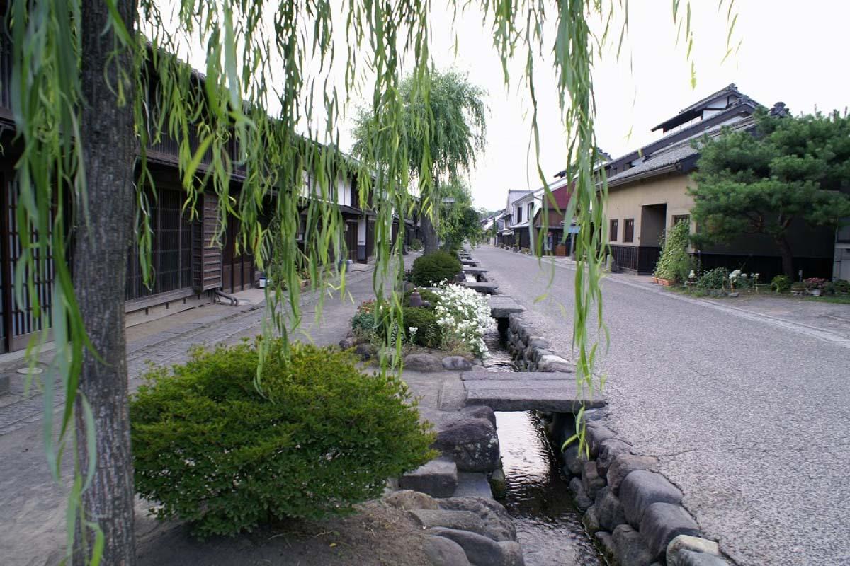 旧北国街道海野宿