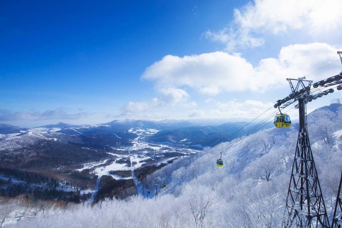 北海道/霧冰平台