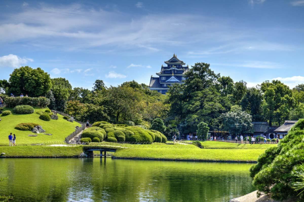 日本  岡山 後樂園