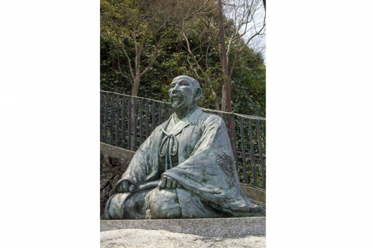 有馬溫泉 豐臣秀吉銅像