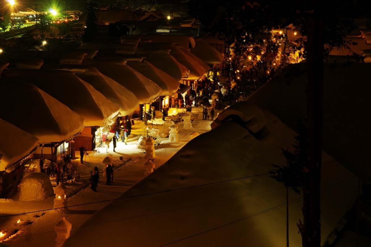 大內宿雪祭