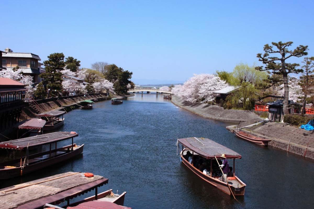 宇治川觀光往返遊船