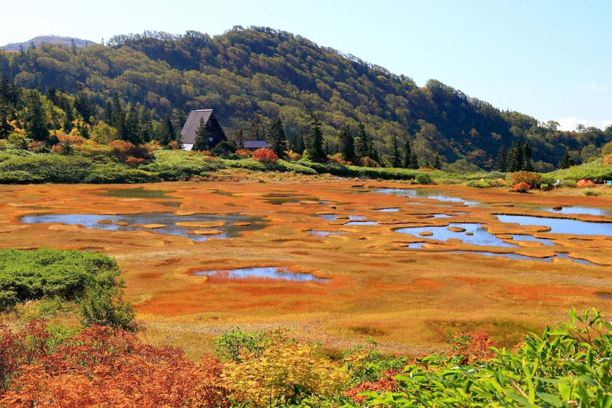 高谷池濕原・天狗之庭