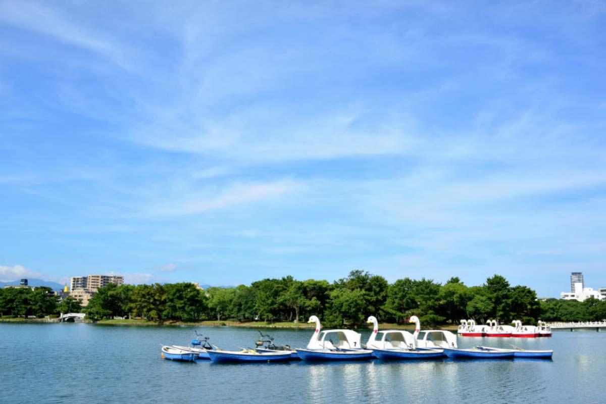 大濠公園划船