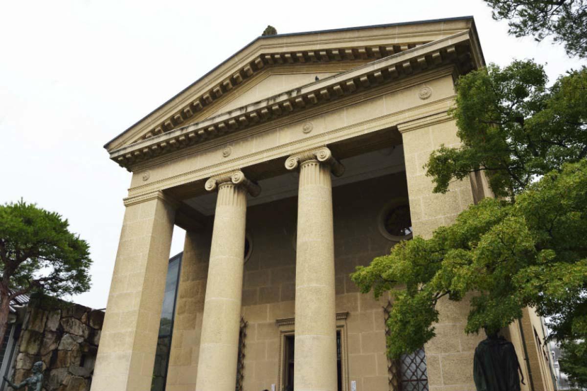 美觀地區 大原美術館