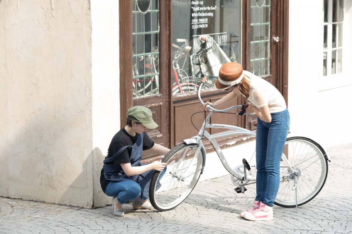 抵達輕井澤後如何租借單車