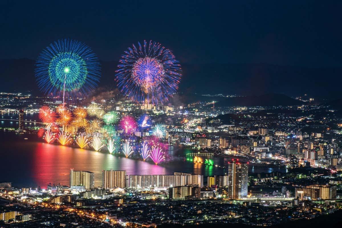 琵琶湖大煙火大會