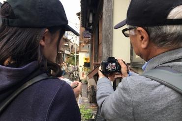 ライターは見た!メディア特別イベント「絶景撮影会in谷中」の光景を激写