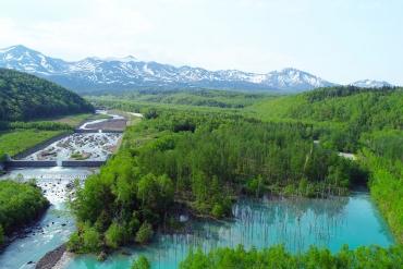 「絶景の宝庫」の名に偽り無し!北海道・美瑛の空撮絶景