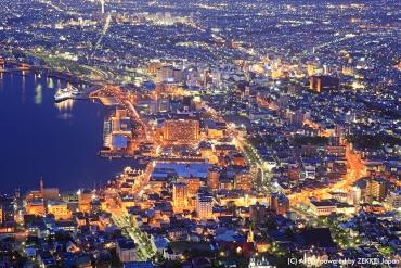 一生一定要去一次!聞名全世界的「函館山」百萬夜景全攻略