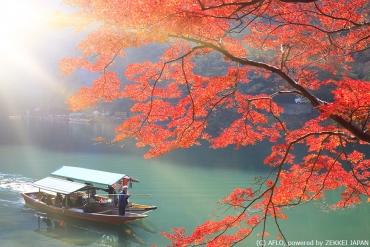 用身心體會京都千年美景--嵐山辨慶