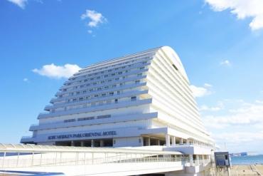 陸地上的豪華郵輪! 充滿異國港灣風情-「神戶美利堅公園東方飯店」