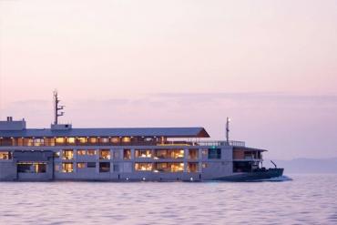 日本當紅GEORGIA咖啡廣告取景地! 瀨戶內海上的豪華漂浮旅宿「guntû」設施大公開