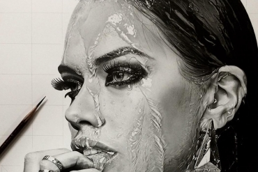 Too real to think of drawn by a pencil! A Pencil drawing looks like a photo.