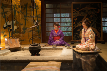 Hóa thân trở thành nhân vật chính của câu chuyện trong 10 ngôi nhà truyền thống của Nhật Bản.