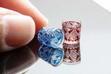 迷你精巧又美麗!Hachinohe megumi的切子玻璃世界