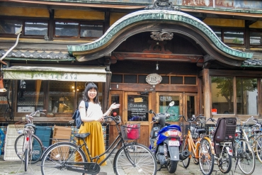 Bike around the Nishijin Area in Kyoto Prefecture