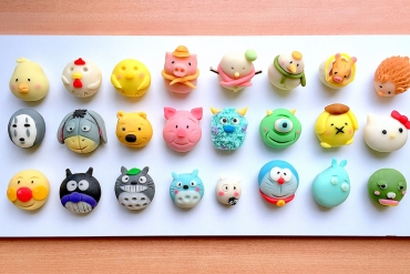 Introducing the delicious and cute Japanese confectionery art of Tadahito Tsuchiya. <br>It's such a shame to eat them!