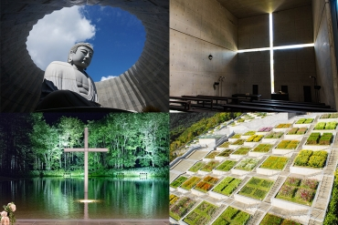 [The Breath-taking Architecture of Tadao Ando] From the three churches to the Hill of the Buddha