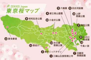 2018 Edition | 15 best cherry blossom spots in Tokyo