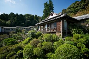 入住一晚幽靜的低調奢華―金比羅溫泉「琴平花壇」